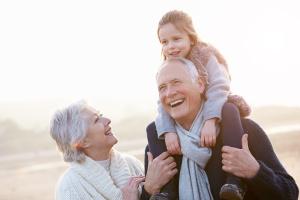 Besteforeldre og barnebarn